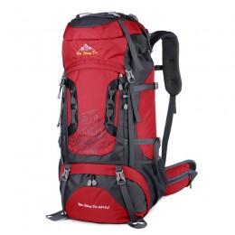Internal Frame 70L Backpack Water-Resistant Hiking Daypack Backpacks