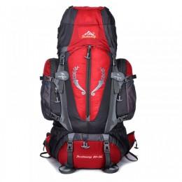 85L Outdoor Hiking Travel Backpack Multi-purpose Camping Rucksack Top Level