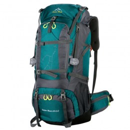 Hiking Backpack Waterproof Daypack Outdoor Camping Climbing Backpack with Rain Cover for Men Women