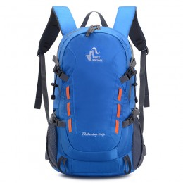 Packable Lightweight Water Resistant Bag with Adjustable Chest Strap for Hiking