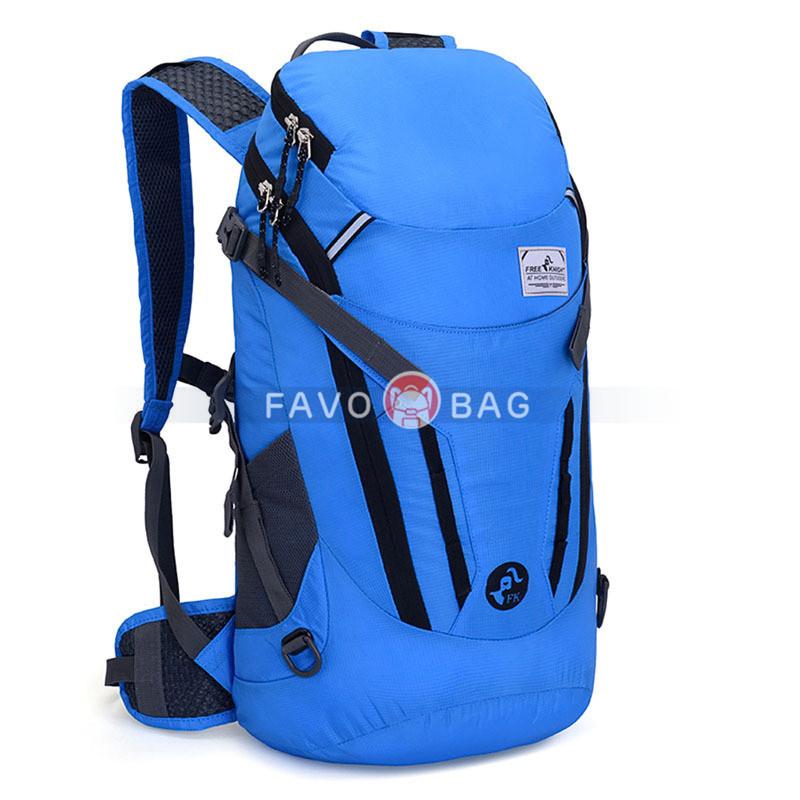 2021 New Folding Backpack Waterproof Nylon Cycling Backpack 35L