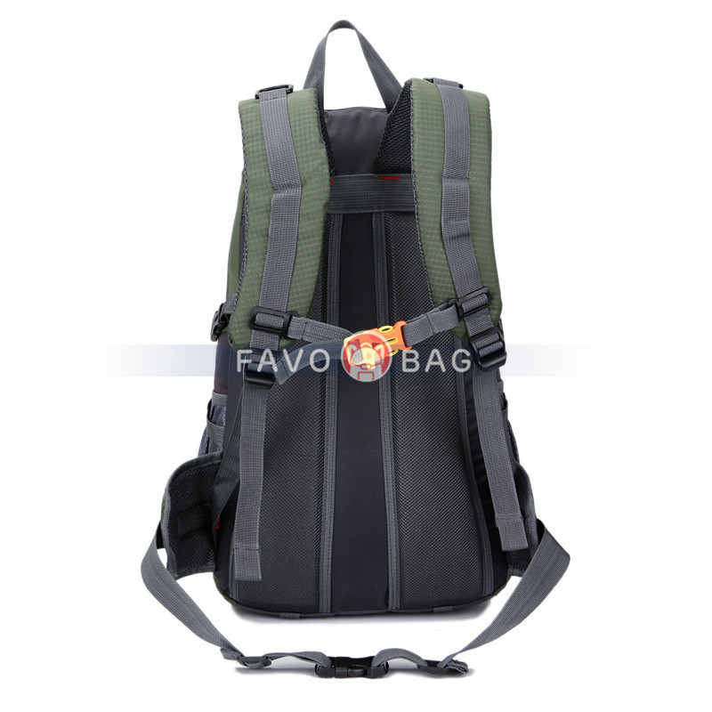 35L Hiking Backpack Water Resistant Outdoor Sports Travel Daypack Lightweight with Rain Cover