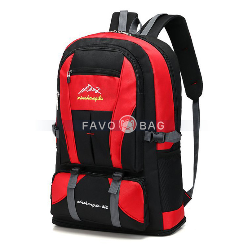 60L Expandable 80L Travel Backpack Outdoor Sports Bag Large Capacity