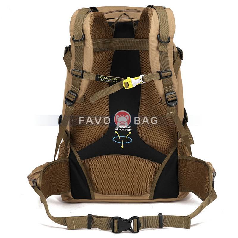 60L Outdoor Large Capacity Mountaineering Bag