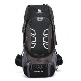 Large Capacity Outdoor Hiking Bag 60L Sports Backpack Hiking Camping Bag