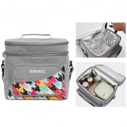 Large Lunch Bag Insulated Lunch Box Soft Cooler Cooling Tote for Adult Kids