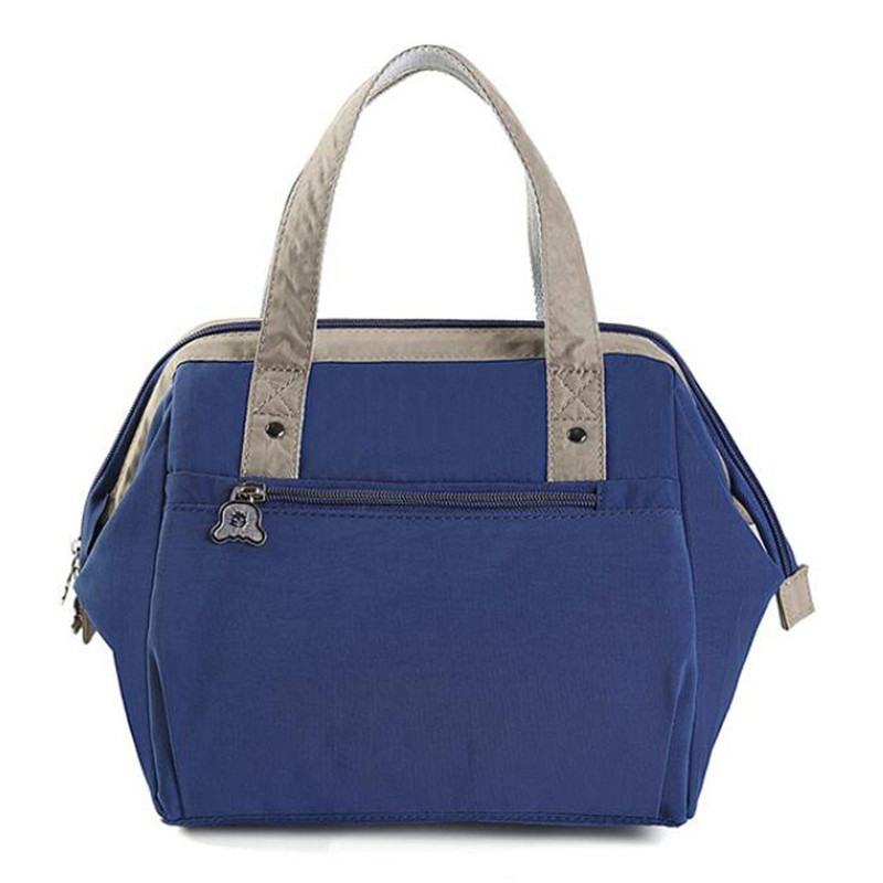 Insulated Lunch Bag With Shoulder Strap for Women Men & Kids Large Reusable Tote Bag