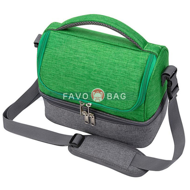 Kids Lunch Bag with Spacious Compartment & Built-In Handle Portable Back To School Lunch Bag