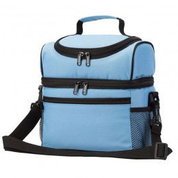 Premium Insulated Lunch Box Soft Leakproof School Lunch Bag with Adjustable Belt