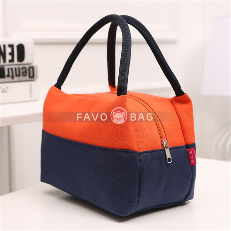 Adult Oxford Lunch Box High Quality Insulated Lunch Bag Large Cooler Tote Bag for Men, Women, Students