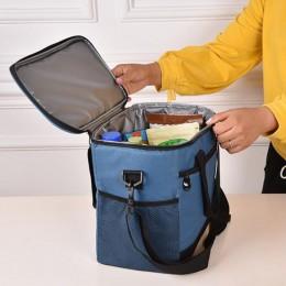 Trendy Lunch Bag Durable Tote Box Commute School Handbag