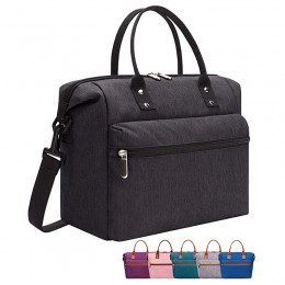 Insulated Lunch Tote Bag With Adjustable & Removable Shoulder Strap