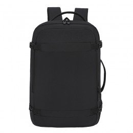 Black Anti Theft Laptop Backpack Business Travel Slim Backpack With Usb Charging Port School