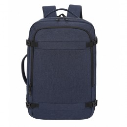 Blue Anti Theft Laptop Backpack Business Travel Slim Backpack With Usb Charging Port School