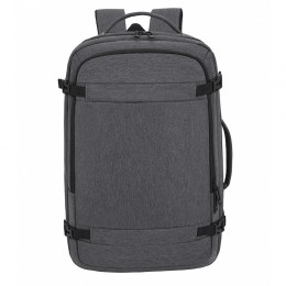 Grey Anti Theft Laptop Backpack Business Travel Slim Backpack With Usb Charging Port School