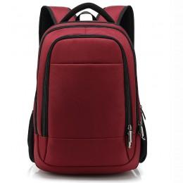Red Men Travel Backpack Big Commute Bag
