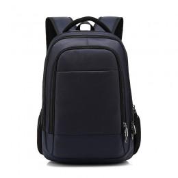 Blue Men Travel Backpack Big Commute Bag