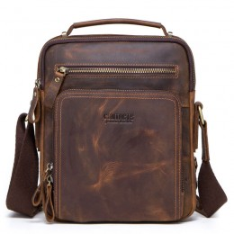 Leather Messenger Bag Purse Crossbody Bags For Work Business