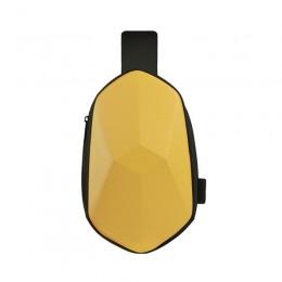 Yellow Sling Backpack Waterproof Crossbody Shoulder Bag Causal Daypack Chest Bag