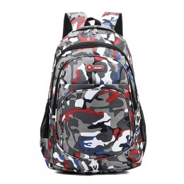 Red School Backpack Lightweight College Back Pack With Laptop