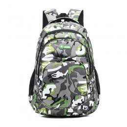 Green School Backpack Lightweight College Back Pack With Laptop