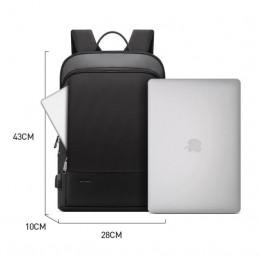 Slim Laptop Men Anti Theft Waterproof College Travel Laptop Backpack