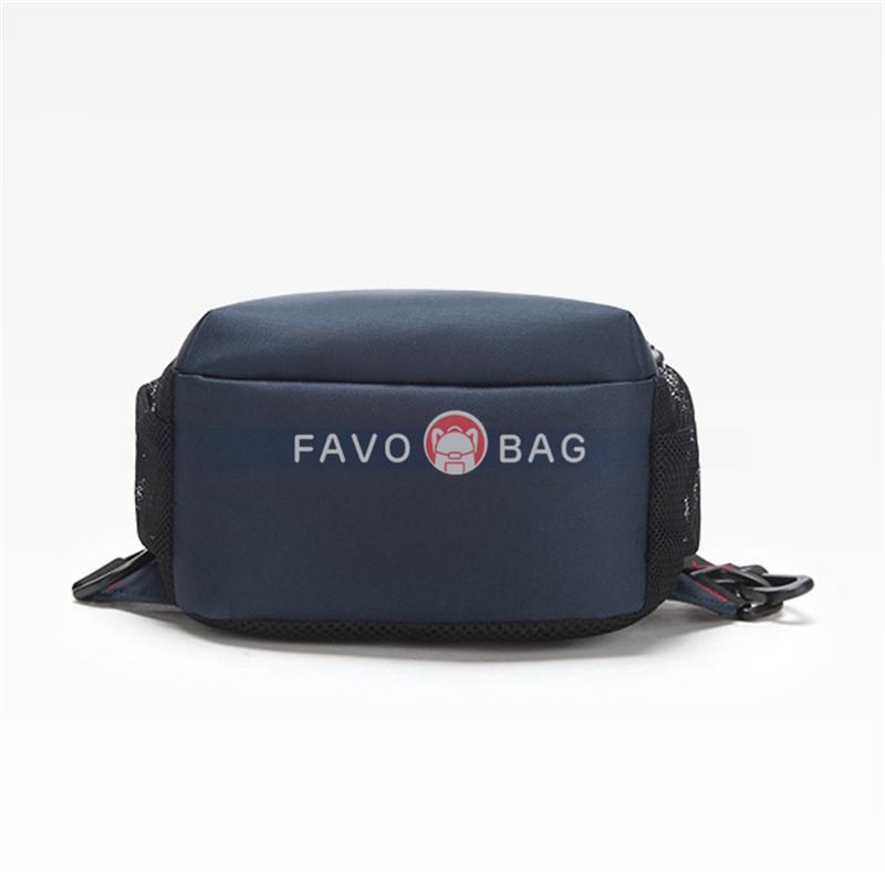 Blue Sling Backpack/Multipurpose Crossbody Shoulder Bag Travel Hiking Daypack