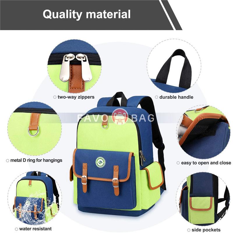 Kids Backpack Children Bookbag Preschool Kindergarten Elementary School Bag for Girls Boys