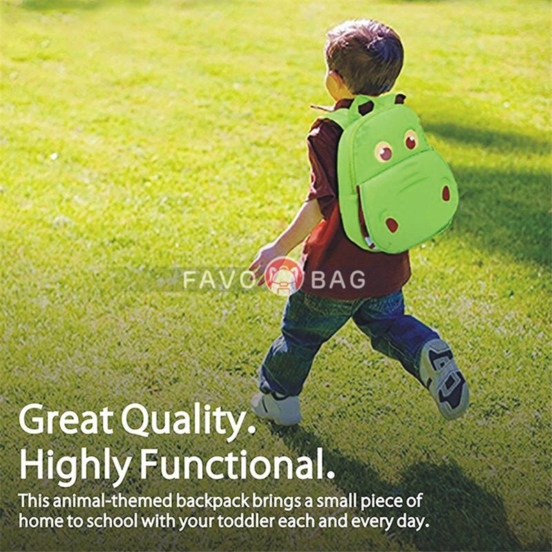 """12"""" Dinosaur Toddler Backpack Prechool Bag for Boys Girls"""