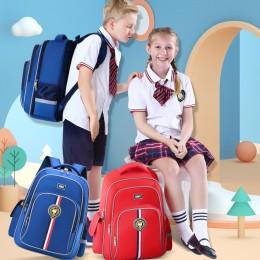 Primary schoolbags 1-3-6 grade boys British style schoolbag training class schoolbags