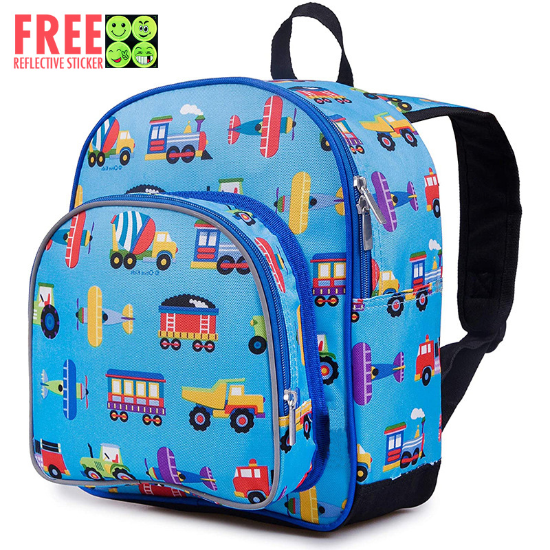 12 Inches Backpack for Toddlers Boys Preschool and Kindergarten