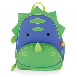 """Skip Hop Toddler Backpack 12"""" School Bag Dinosaur"""