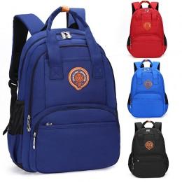 Primary Kids' Preppy Style Oxford Waterproof Breathable Backpack