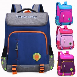 Kids' Ultralight Space Reflective Backpack for Primary School