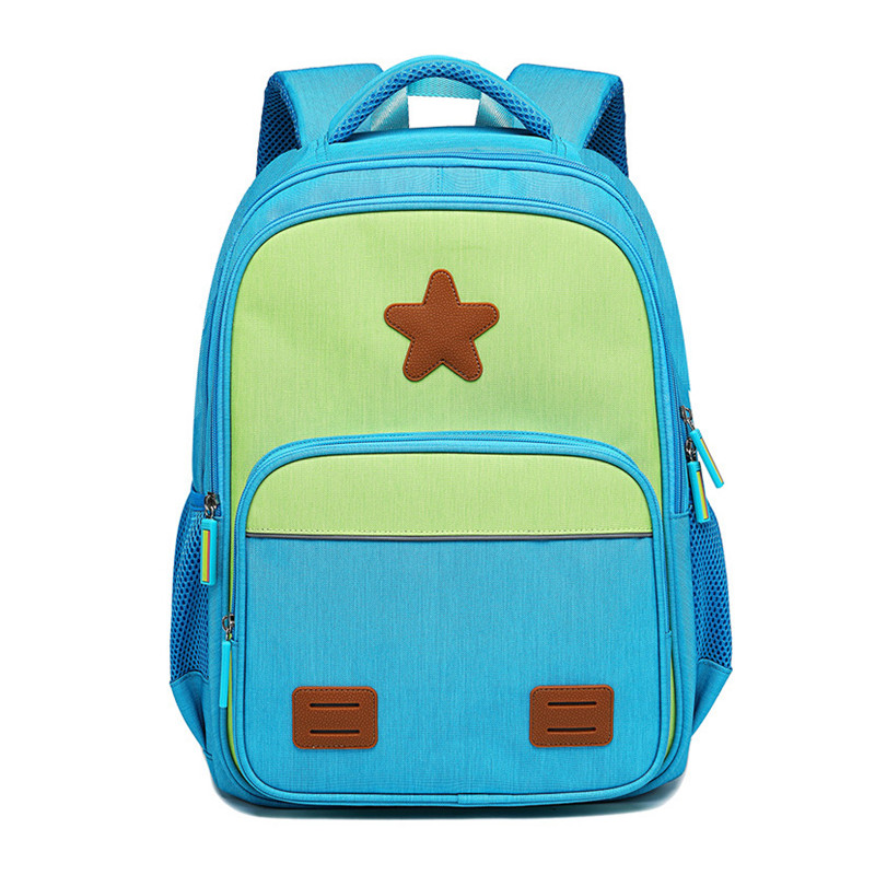 Primary Boys'Oxford Waterproof Lightweight Reflective Backpack