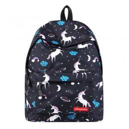 Unicorn Backpack Kids School Backpack Middle Bookbag College Bags Women Daypack