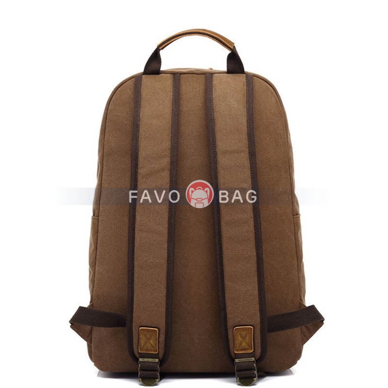 Boys Travel Backpack with Laptop Compartment Commute Bag in Grey/Army Green