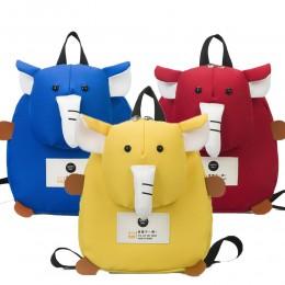 Cartoon Elephant Shaped Lightweight Backpack