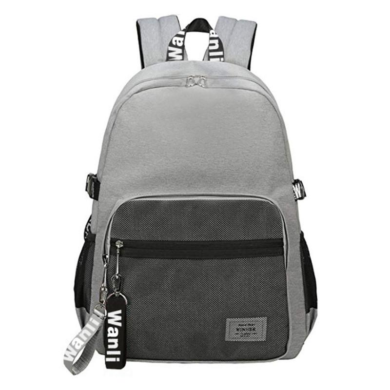 Backpack Haversack Travel School Bag Student Simple Daypack Bookbag