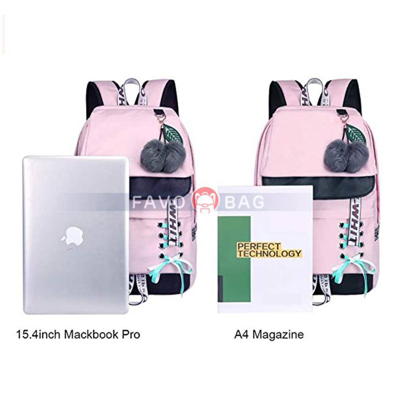 Backpack for Girls Kids Bookbag Elementary Middle School Womens College