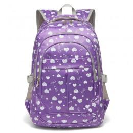 Kids Bookbags for Girls Elementary Purple School Bags