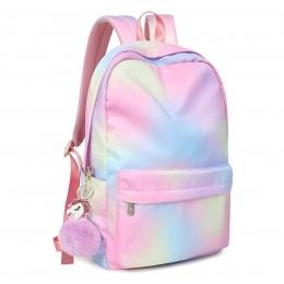 Gradient Backpacks for Girls