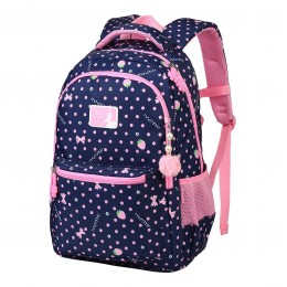 Girls School Backpack Water Resistant Elementary School Bag With Chest Strap