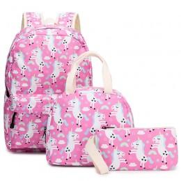 Lightweight Unicorn Backpacks Girls School Bags Kids Bookbags