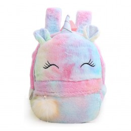 Plush Unicorn Backpack Mini Unicorn Backpack For Girls