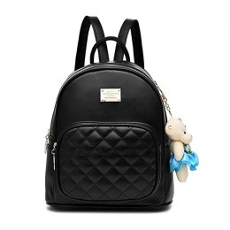 Leather Backpack School Bags Casual Travel Daypacks For Girls