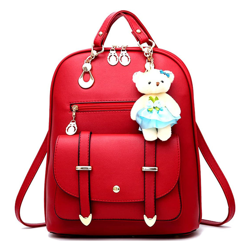 Backpack Purse for Women Large Capacity Leather Shoulder Bags