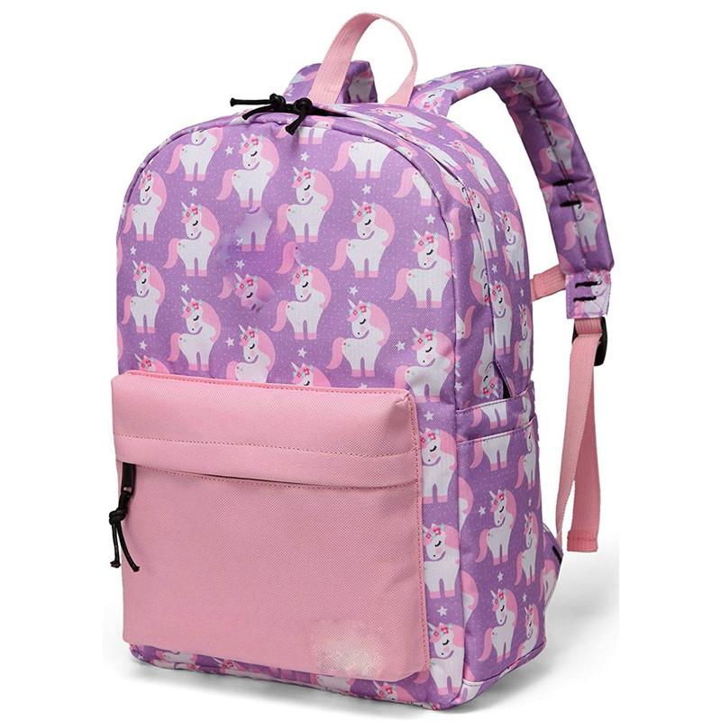 Preschool Backpack Little Kid Backpacks for Girls With Chest Strap