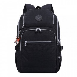 Big Backpack with USB Nylon Waterproof Lightweight Travel Bag for Teens