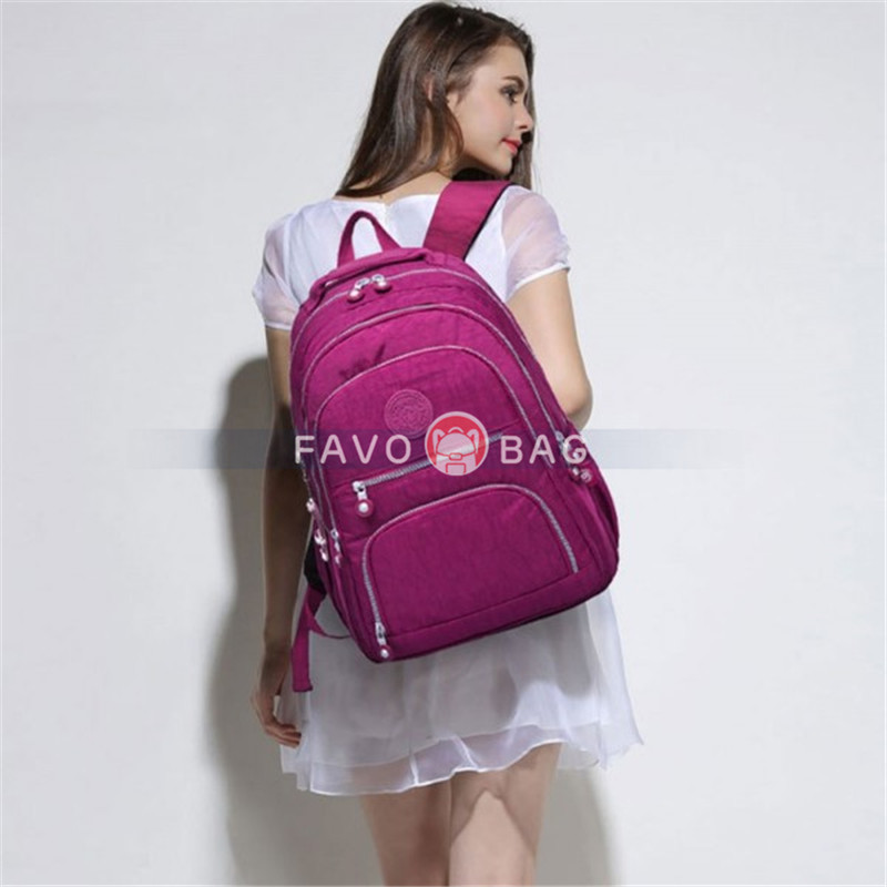 Big Travel Backpack with Laptop Compartment for Girls Top Level